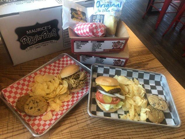Custom Boxed Lunch